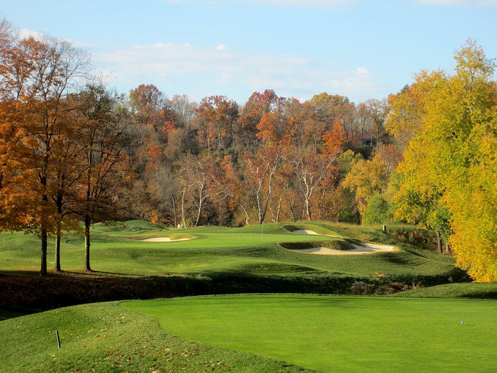 3rd Hole at Valhalla Golf Club (210 Yard Par 3)