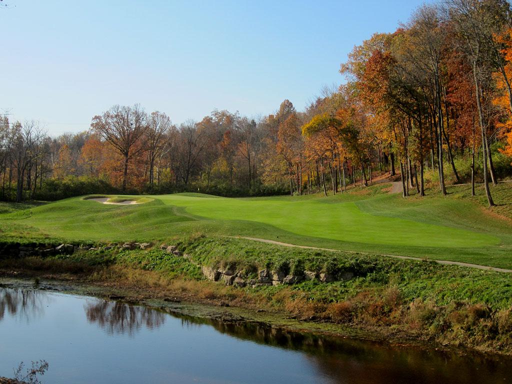 6th Hole at Valhalla Golf Club (495 Yard Par 4)