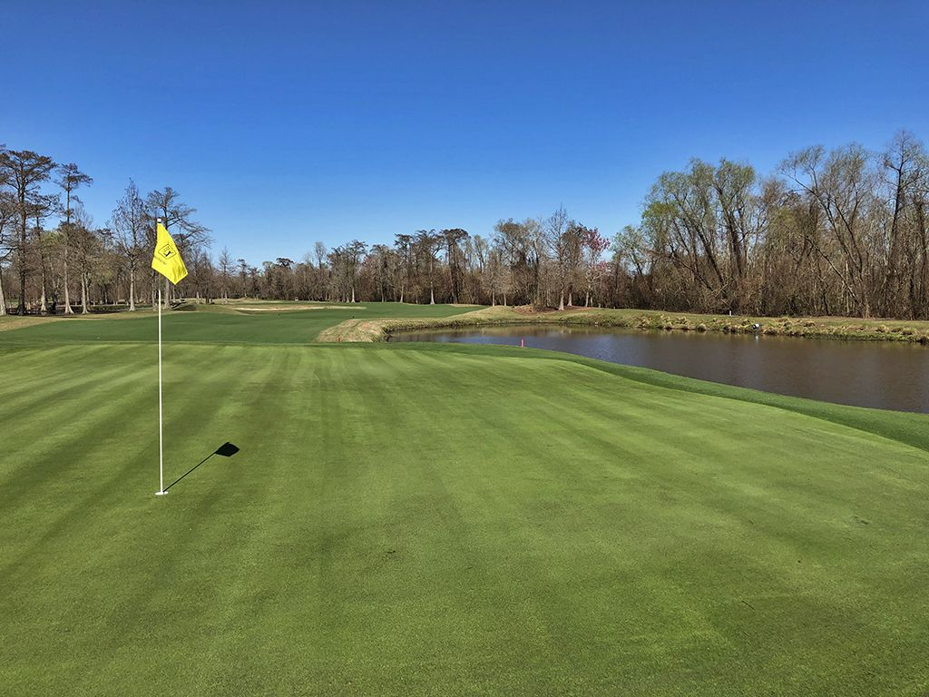 16th Hole at TPC Louisiana (340 Yard Par 4)