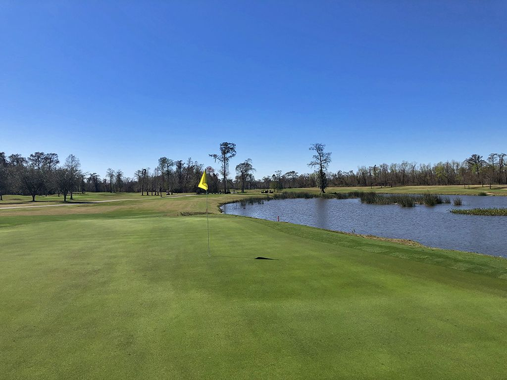 17th Hole at TPC Louisiana (172 Yard Par 3)