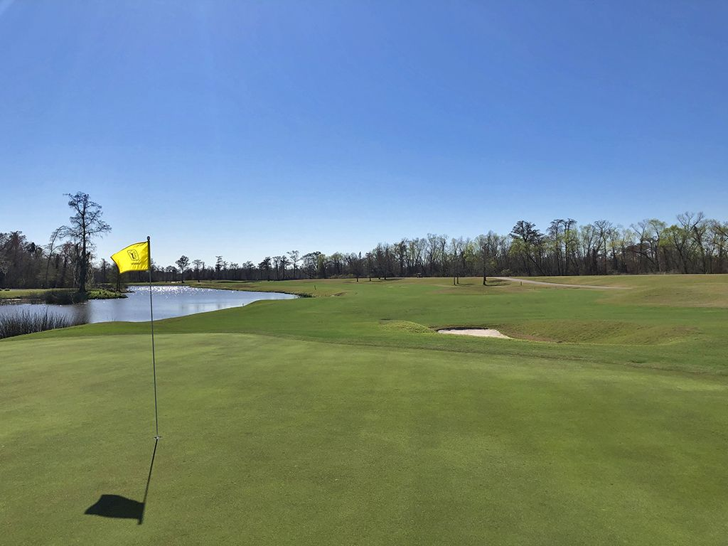18th Hole at TPC Louisiana (565 Yard Par 5)