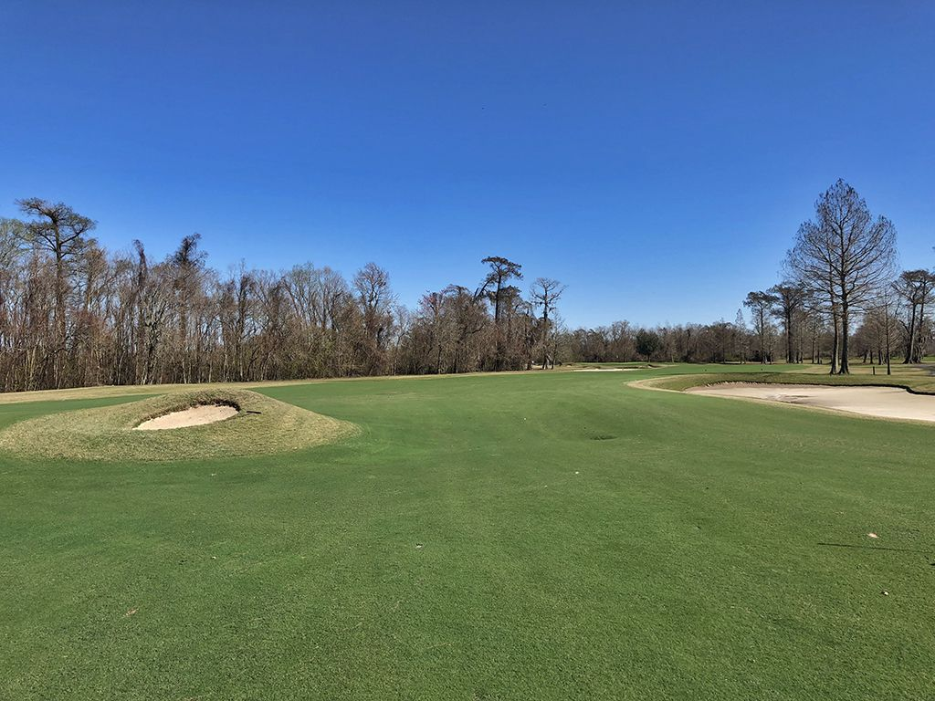 7th Hole at TPC Louisiana (528 Yard Par 5)