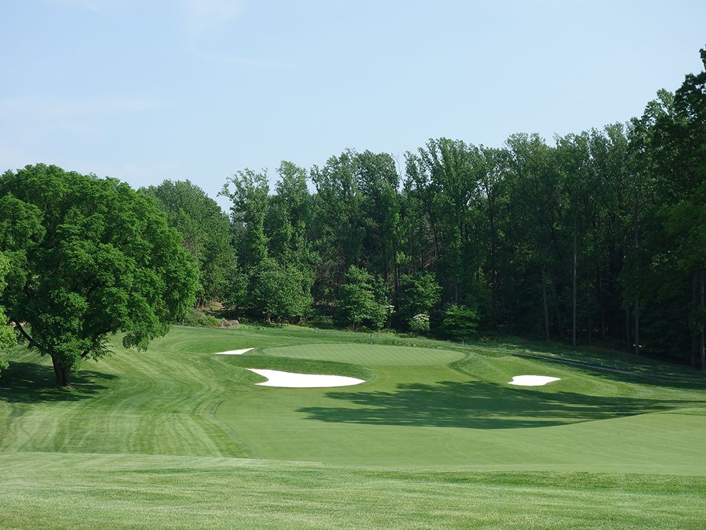 14th Hole at Baltimore Country Club (East) (607 Yard Par 5)