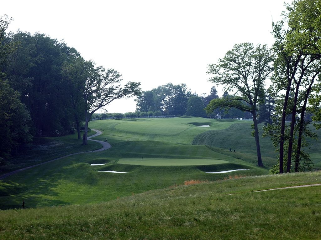 17th Hole at Baltimore Country Club (East) (238 Yard Par 3)