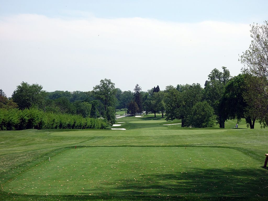 2nd Hole at Baltimore Country Club (East) (496 Yard Par 4)