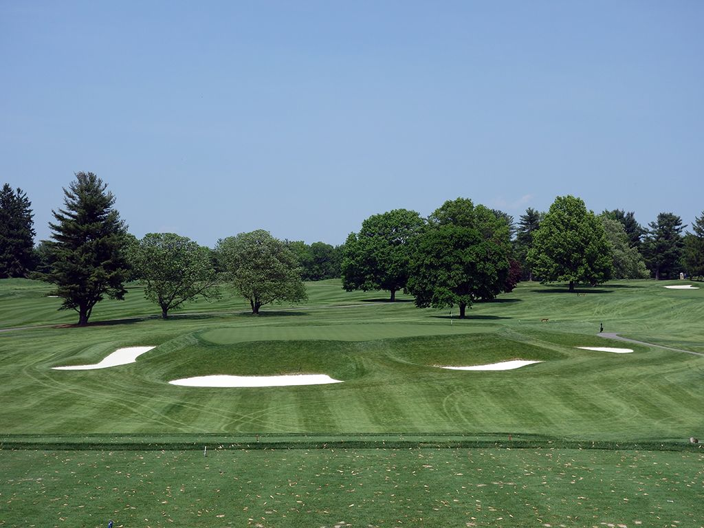 4th Hole at Baltimore Country Club (East) (157 Yard Par 3)