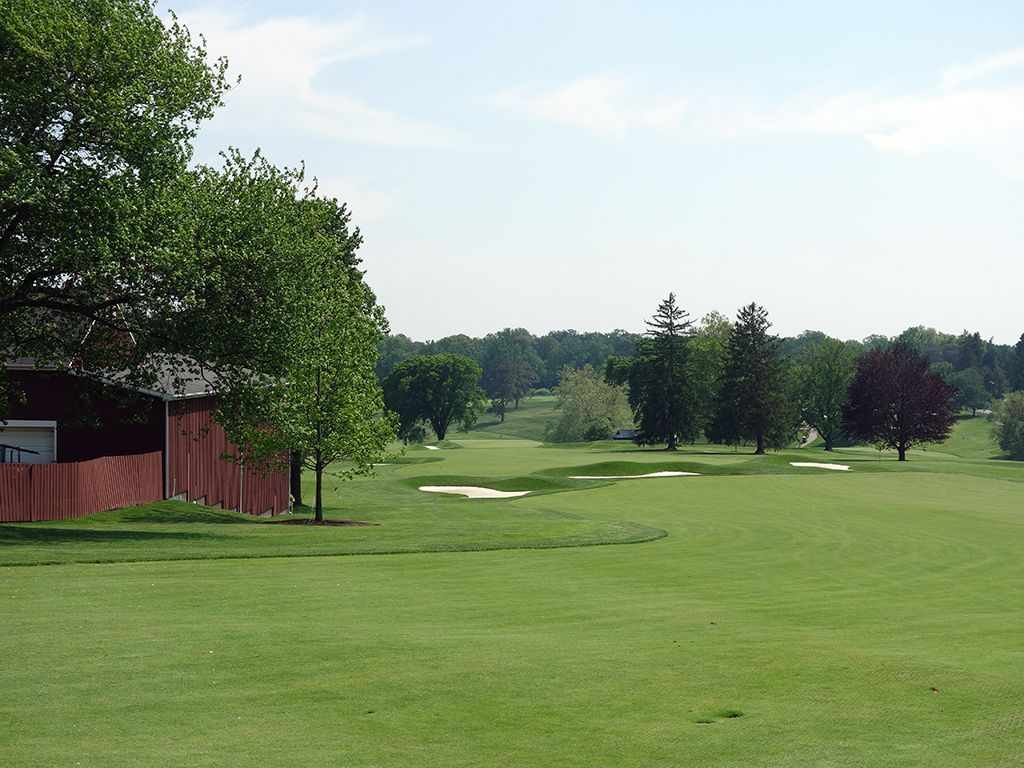 6th Hole at Baltimore Country Club (East) (586 Yard Par 5)