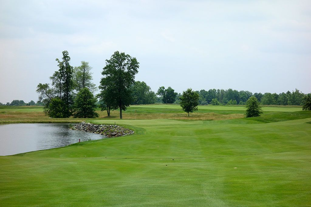 18th Hole at Bulle Rock (485 Yard Par 4)