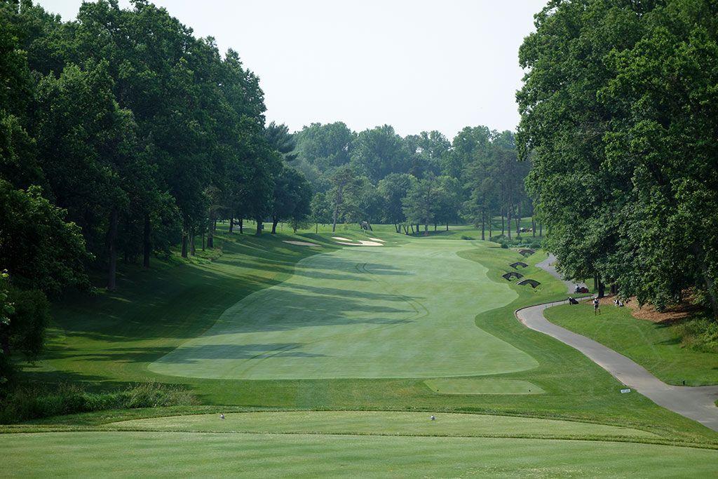 11th Hole at Congressional Country Club (Blue) (489 Yard Par 4)