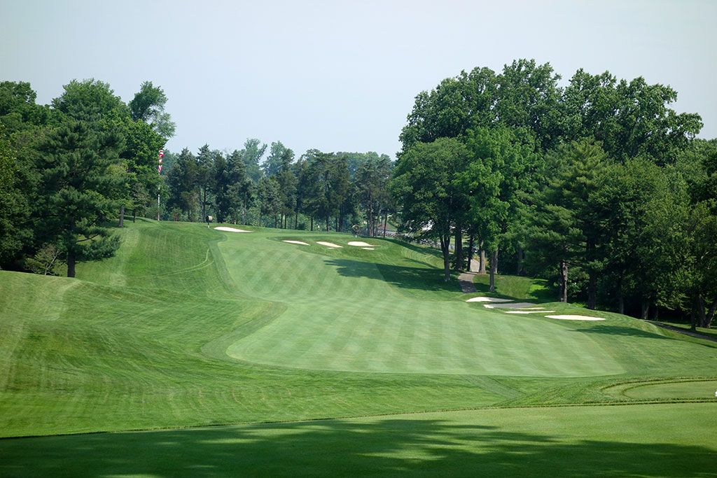 15th Hole at Congressional Country Club (Blue) (490 Yard Par 4)