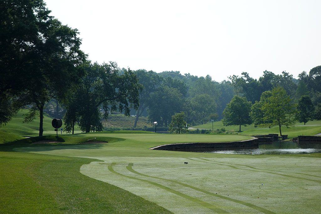 6th Hole at Congressional Country Club (Blue) (555 Yard Par 5)