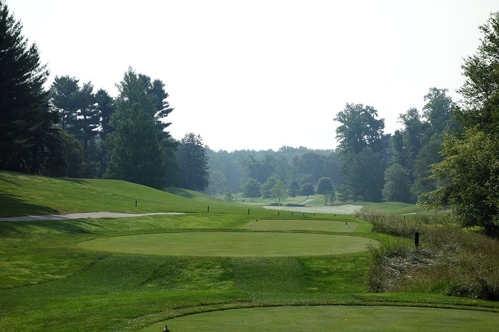 6th Hole at Congressional Country Club (Blue) (555 Yard Par 5)
