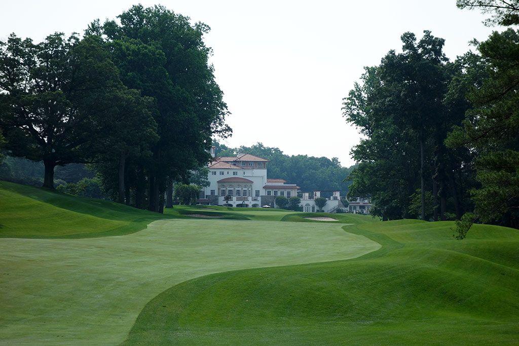 9th Hole at Congressional Country Club (Blue) (636 Yard Par 5)