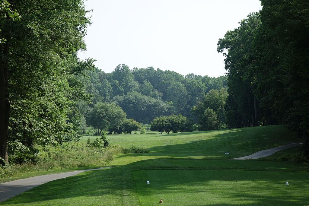 10th Hole at Congressional Country Club (Gold) (511 Yard Par 5)