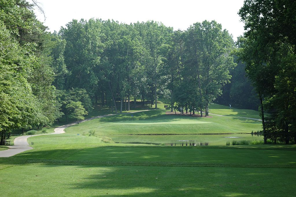 11th Hole at Congressional Country Club (Gold) (190 Yard Par 3)