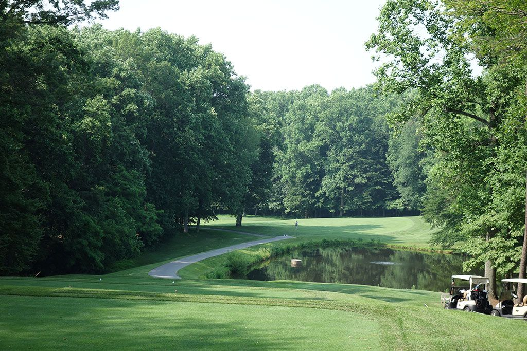 12th Hole at Congressional Country Club (Gold) (434 Yard Par 4)