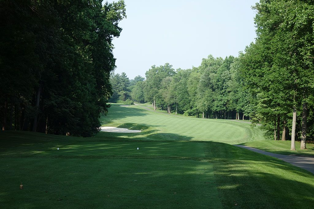 14th Hole at Congressional Country Club (Gold) (540 Yard Par 5)