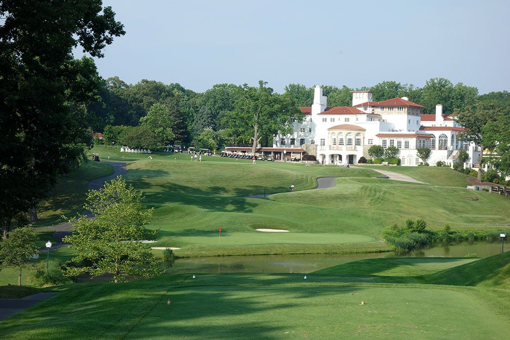 18th Hole at Congressional Country Club (Gold) (204 Yard Par 3)