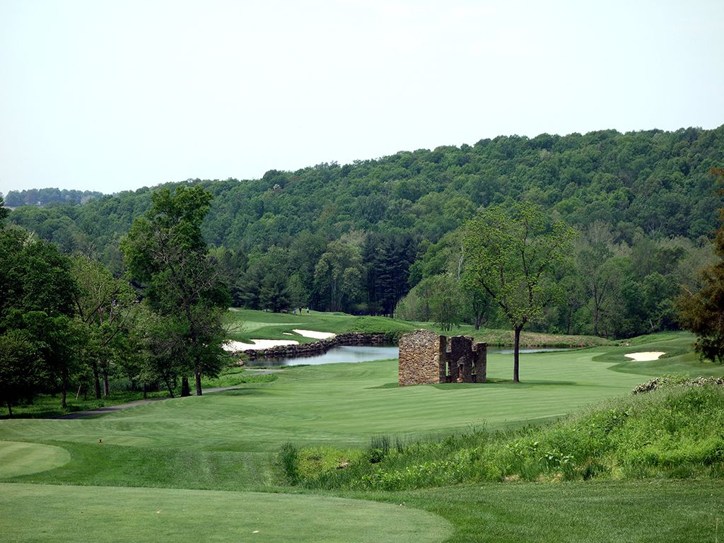 18th Hole at Whiskey Creek Golf Club (547 Yard Par 5)