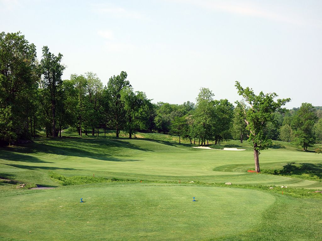 9th Hole at Whiskey Creek Golf Club (545 Yard Par 5)