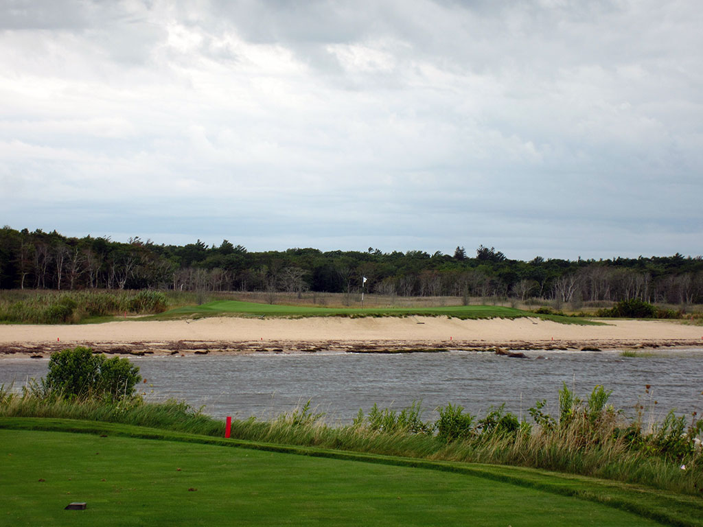 3rd Hole at The Kittansett Club (167 Yard Par 3)