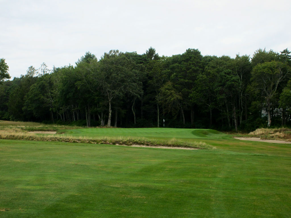 7th Hole at The Kittansett Club (534 Yard Par 5)