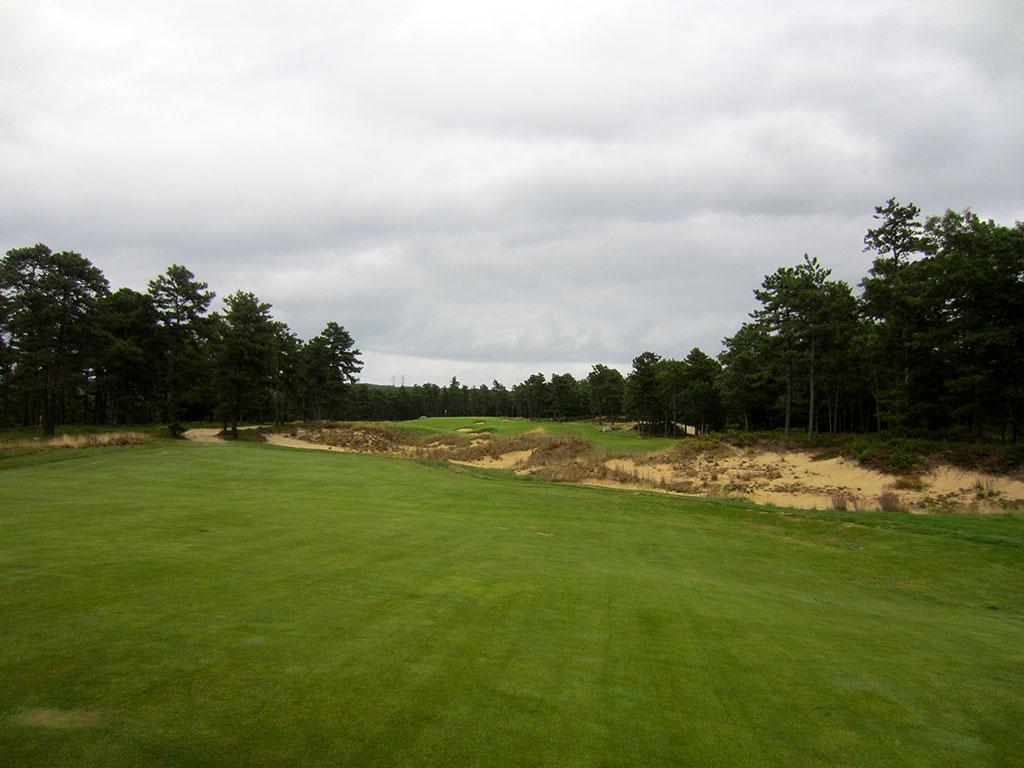 10th Hole at Old Sandwich Golf Club (516 Yard Par 5)