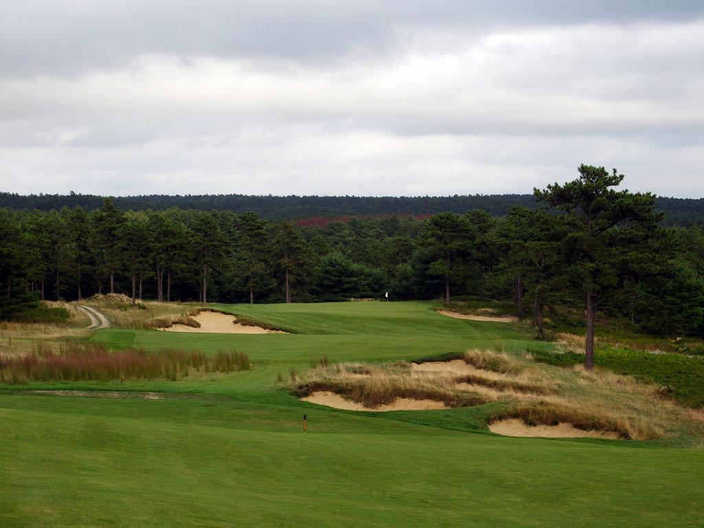 18th Hole at Old Sandwich Golf Club (498 Yard Par 4)