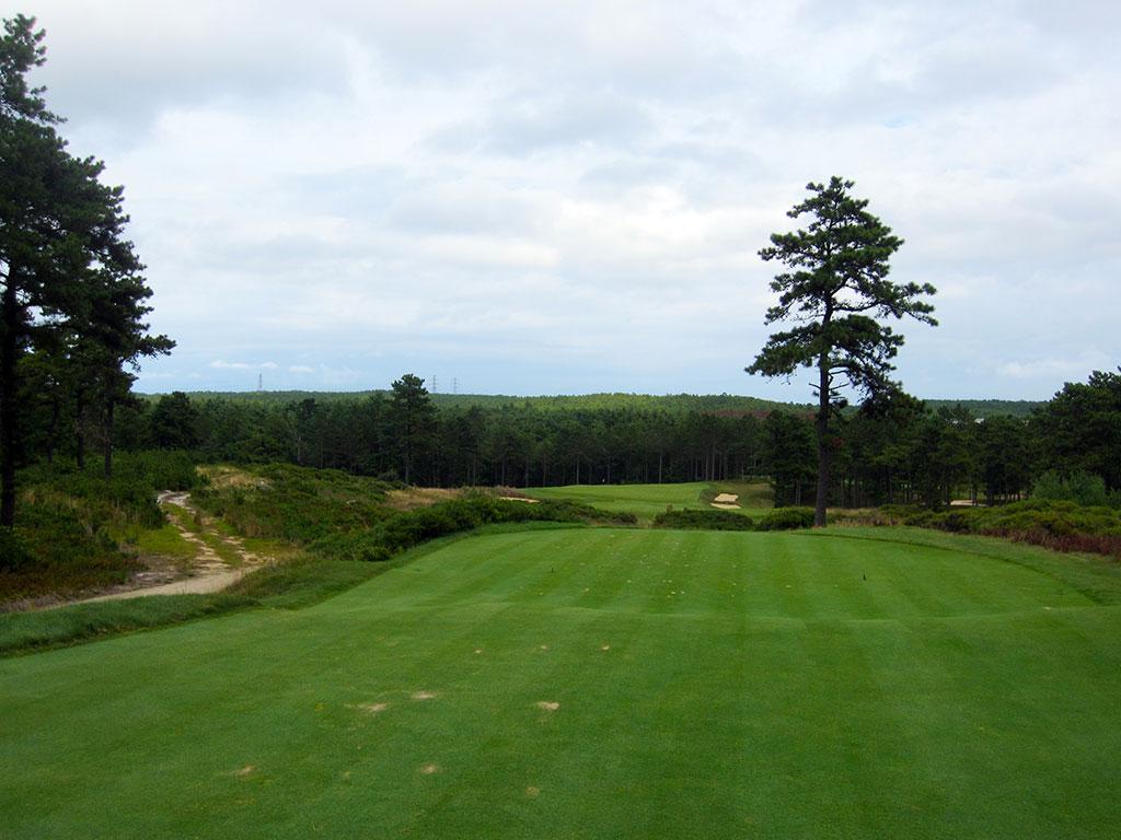 4th Hole at Old Sandwich Golf Club (238 Yard Par 3)
