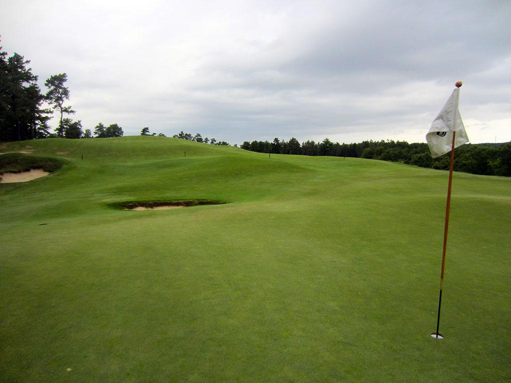 5th Hole at Old Sandwich Golf Club (336 Yard Par 4)