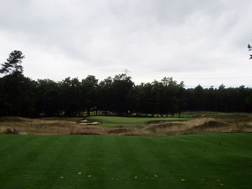 9th Hole at Old Sandwich Golf Club (131 Yard Par 3)