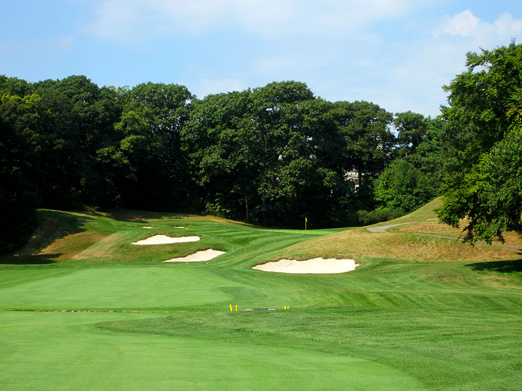 11th Hole at The Country Club (Brookline) (513 Yard Par 5)