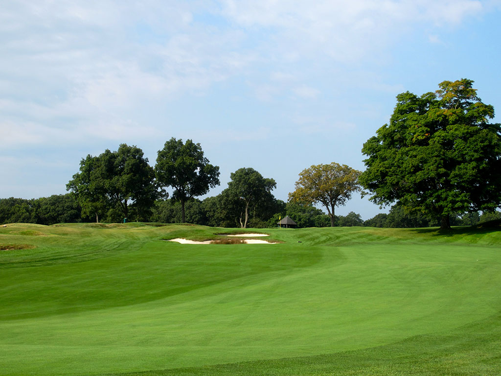 2nd Hole at The Country Club (Brookline) (190 Yard Par 3)