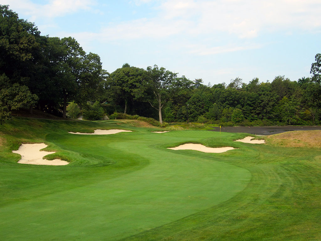 3rd Hole at The Country Club (Brookline) (451 Yard Par 4)