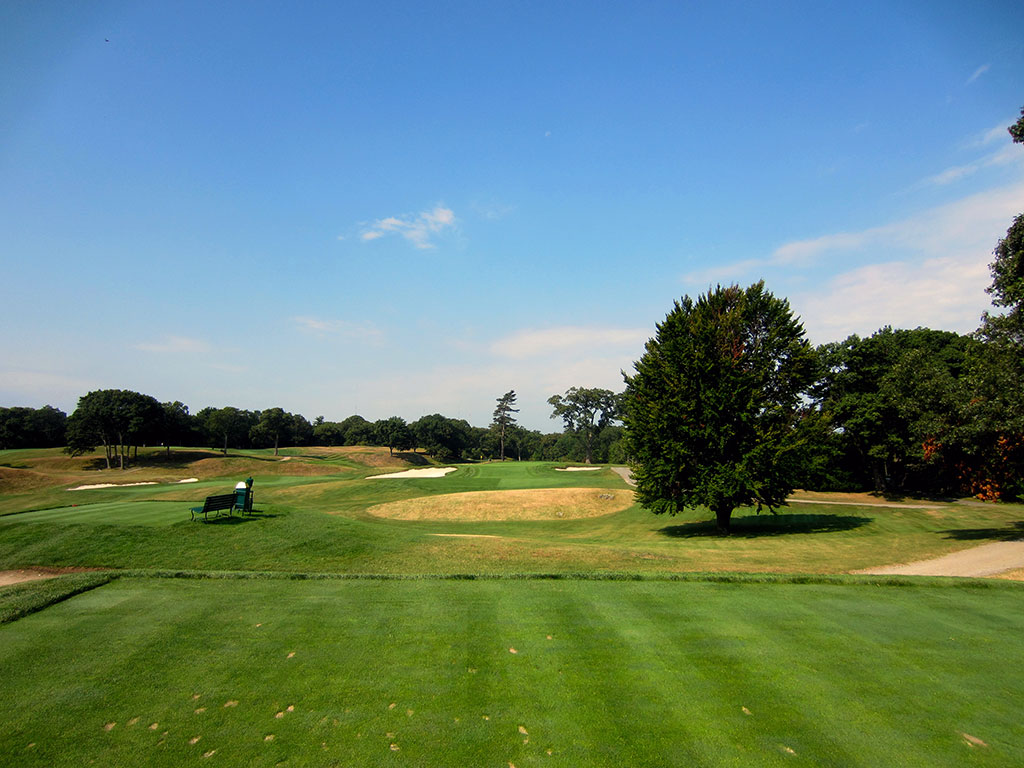 7th Hole at The Country Club (Brookline) (197 Yard Par 3)
