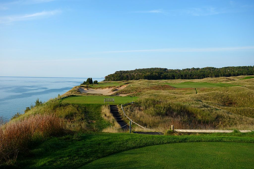 12th Hole at Arcadia Bluffs