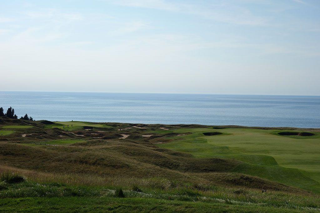 5th Hole at Arcadia Bluffs Golf Club (583 Yard Par 5)