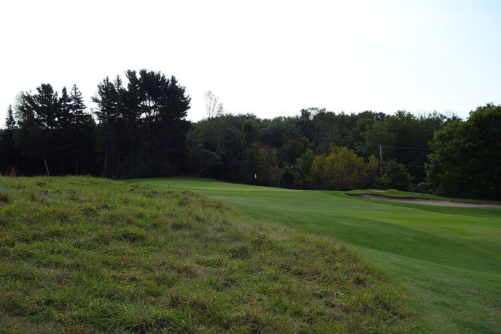 5th Hole at Crystal Downs Country Club (353 Yard Par 4)