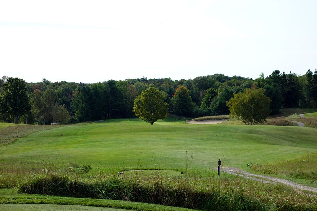 7th Hole at Crystal Downs Country Club (335 Yard Par 4)