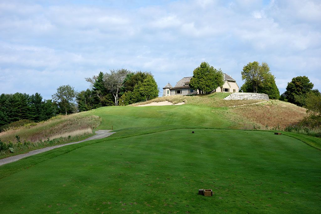 9th Hole at Crystal Downs Country Club (175 Yard Par 3)