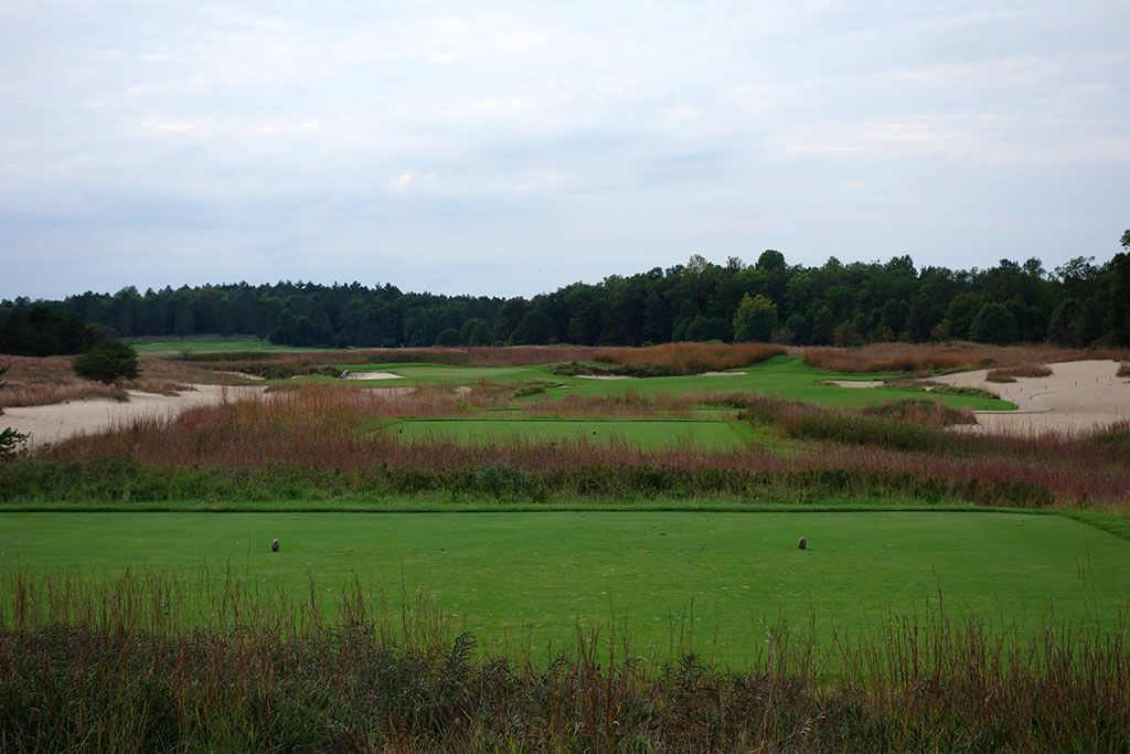 17th Hole at Forest Dunes Golf Club (302 Yard Par 4)