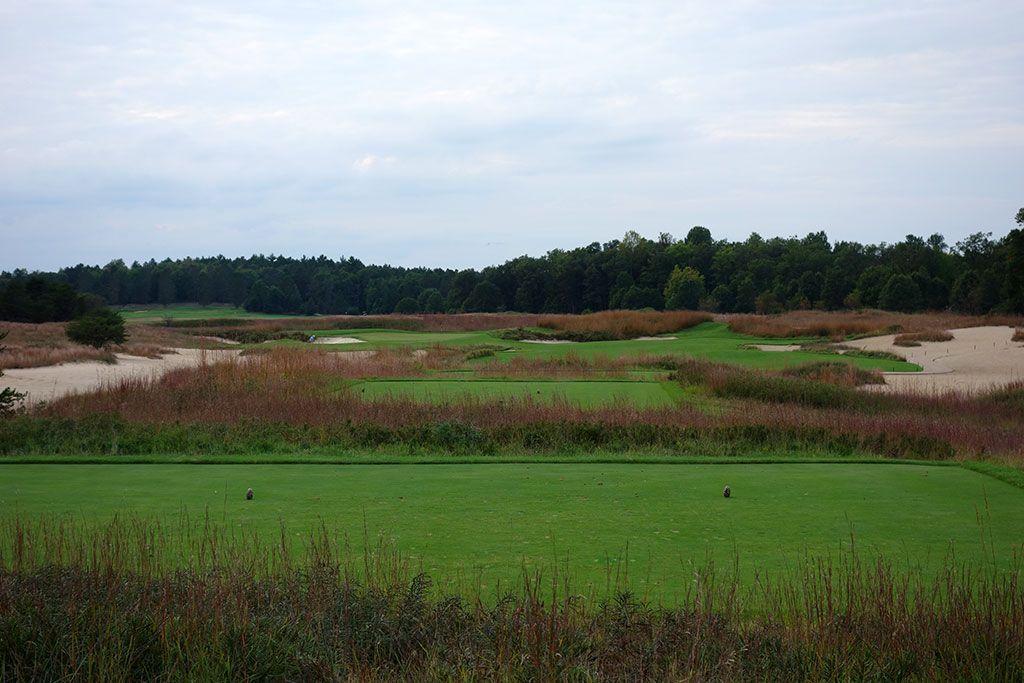 17th Hole at Forest Dunes Golf Club (302 Yard Par 4)