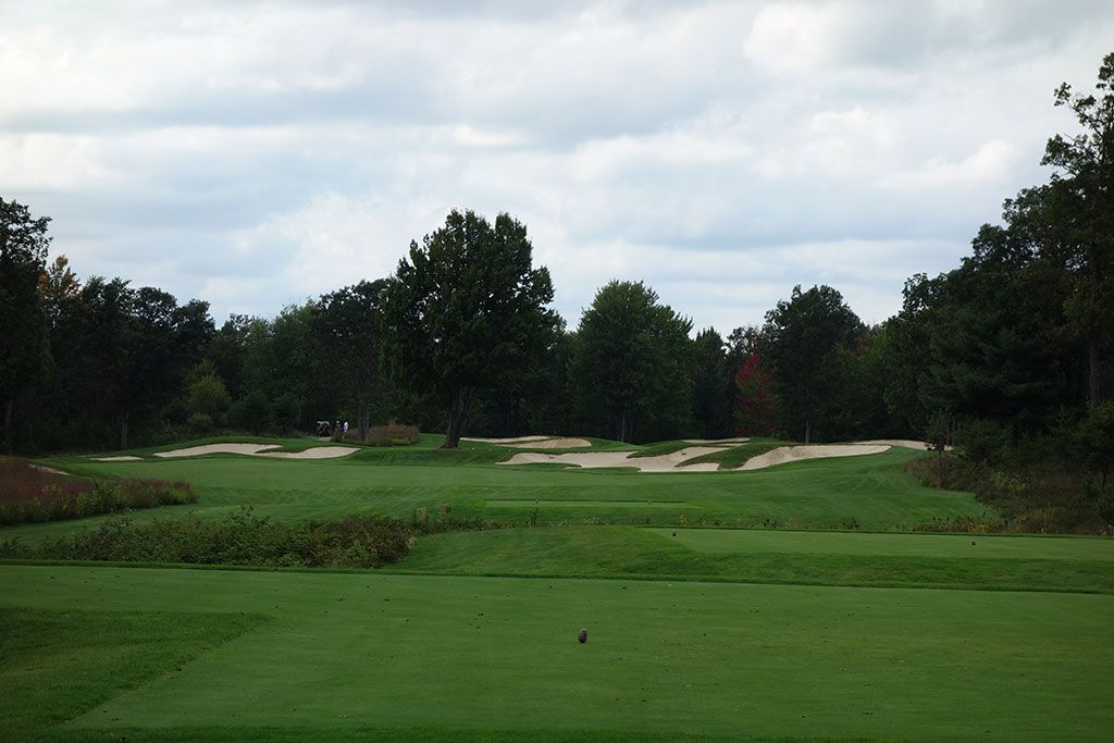 6th Hole at Forest Dunes Golf Club (378 Yard Par 4)