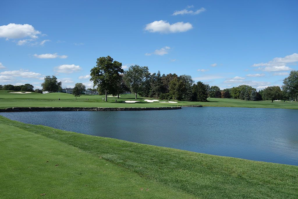 16th Hole at Oakland Hills Country Club (South) (406 Yard Par 4)