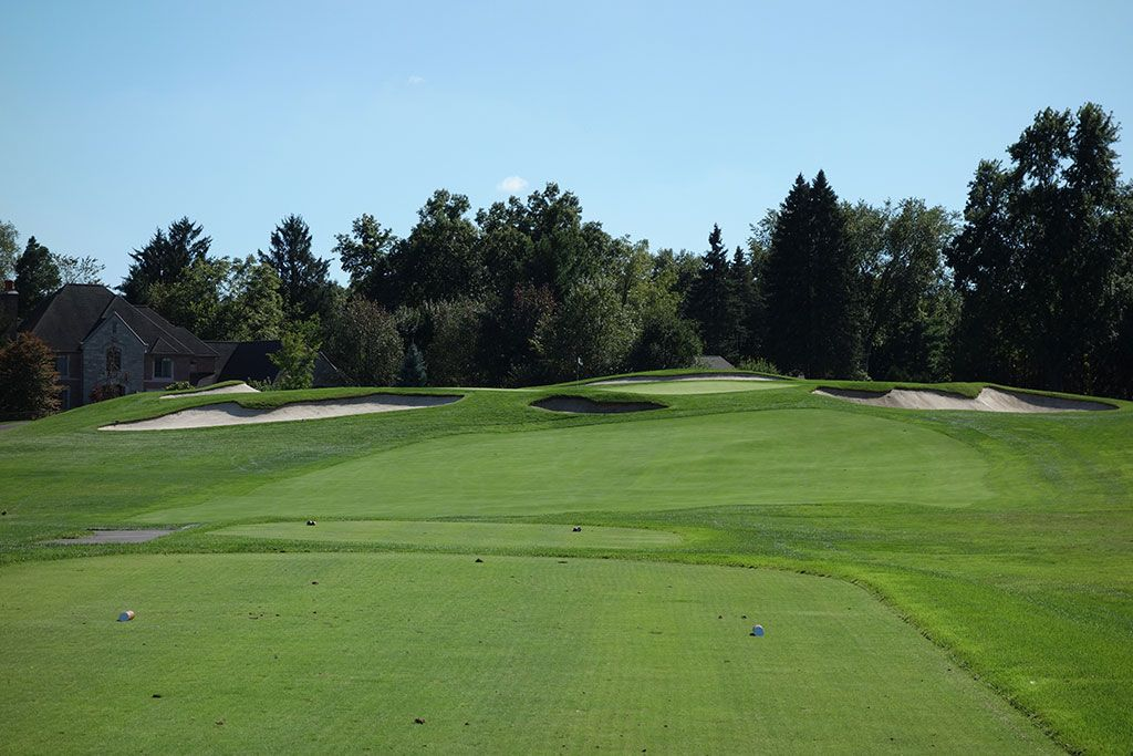 17th Hole at Oakland Hills Country Club (South) (238 Yard Par 3)