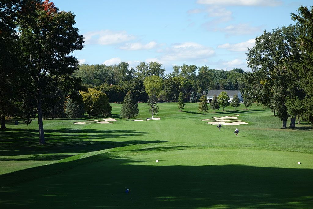 18th Hole at Oakland Hills Country Club (South) (498 Yard Par 5)
