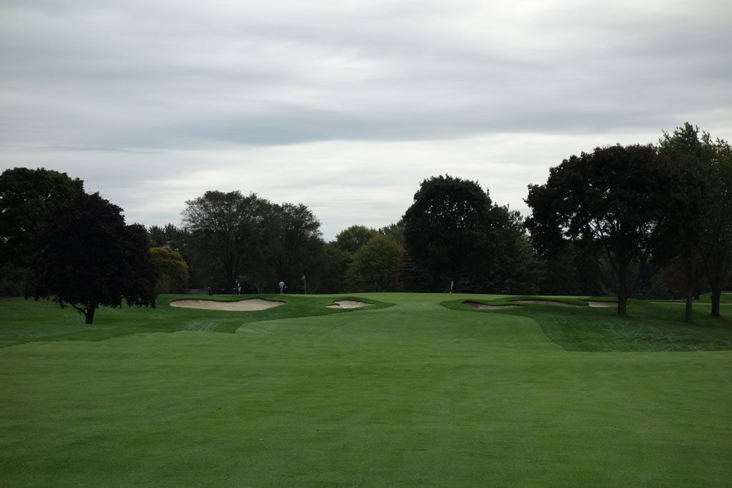 2nd Hole at Oakland Hills Country Club (South) (529 Yard Par 5)