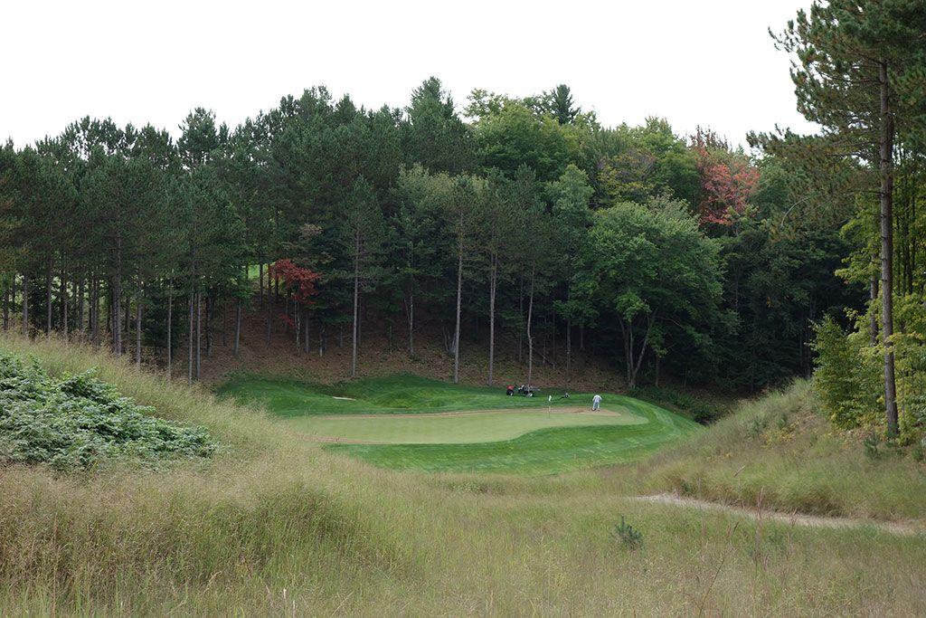 13th Hole at True North Golf Club (198 Yard Par 3)