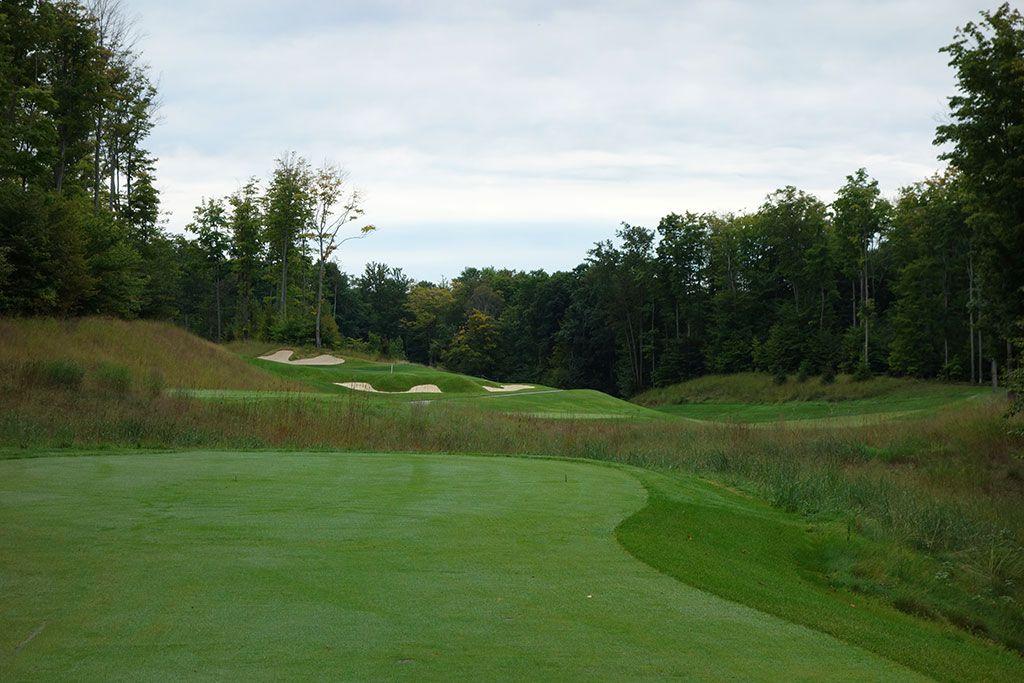 18th Hole at True North Golf Club (562 Yard Par 5)