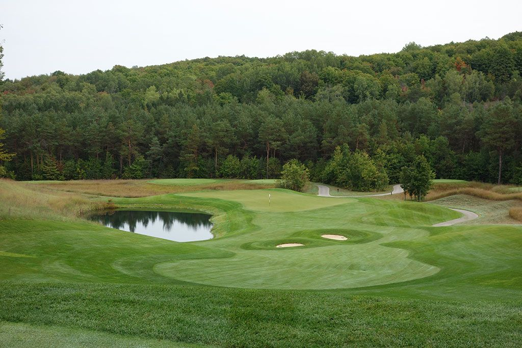 2nd Hole at True North Golf Club (473 Yard Par 4)